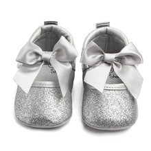 New Cute Baby Shoes Toddler Soft Sole Baby Girl Princess Fir