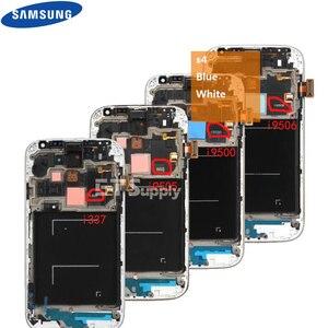 Image 5 - 5.0 الأصلي شاشة الكريستال السائل محول الأرقام بشاشة تعمل بلمس لسامسونج غالاكسي S4 GT i9505 i9500 i9505 i9506 i337 LCD مع الإطار