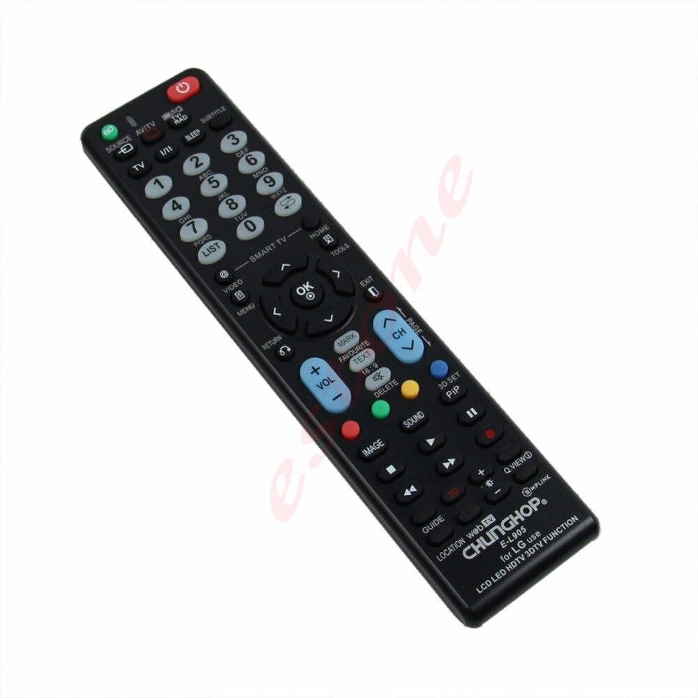 Großhandel dropshipping 1 PC Neue Universal-Fernbedienung E-L905 Fernbedienung für LG Verwendung LCD LED HDTV 3DTV-Funktion