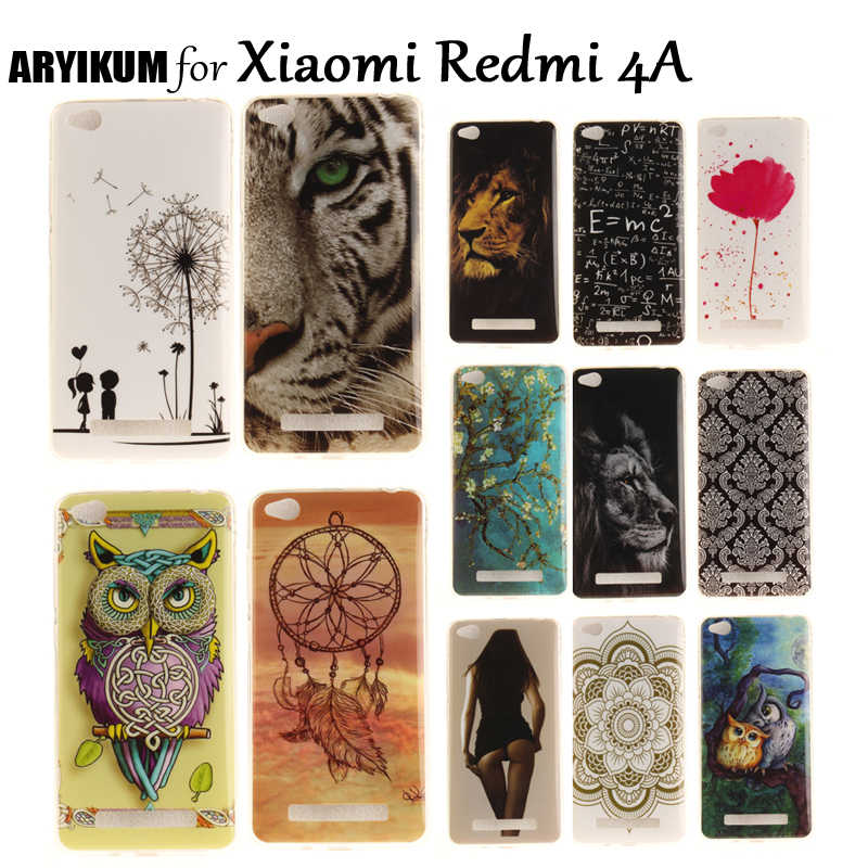 ARYIKUM Silicone Case Đối Với Xiaomi Redmi 4A Pro 16 gb 2 gb 32 gb Redmi4A Điện Thoại Thông Minh Bìa Cho Xaomi Xiami Xiomi Redmi 4A Funda etui
