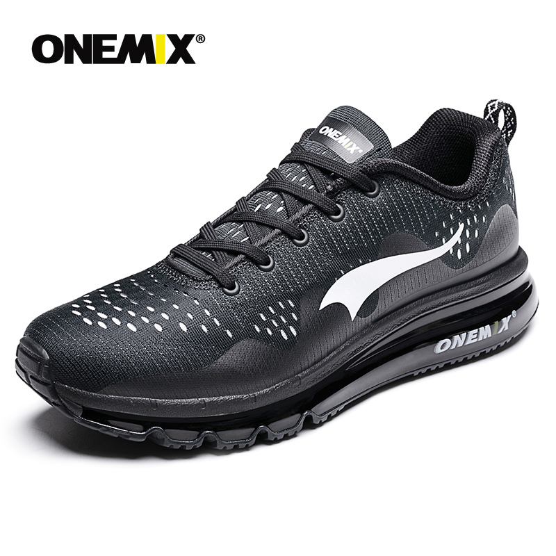 ONEMIX Air 95 Men Sports Running Shoes cushioning breathable Massage Sneakers for men Max 270 sport shoes male athletic outdoor