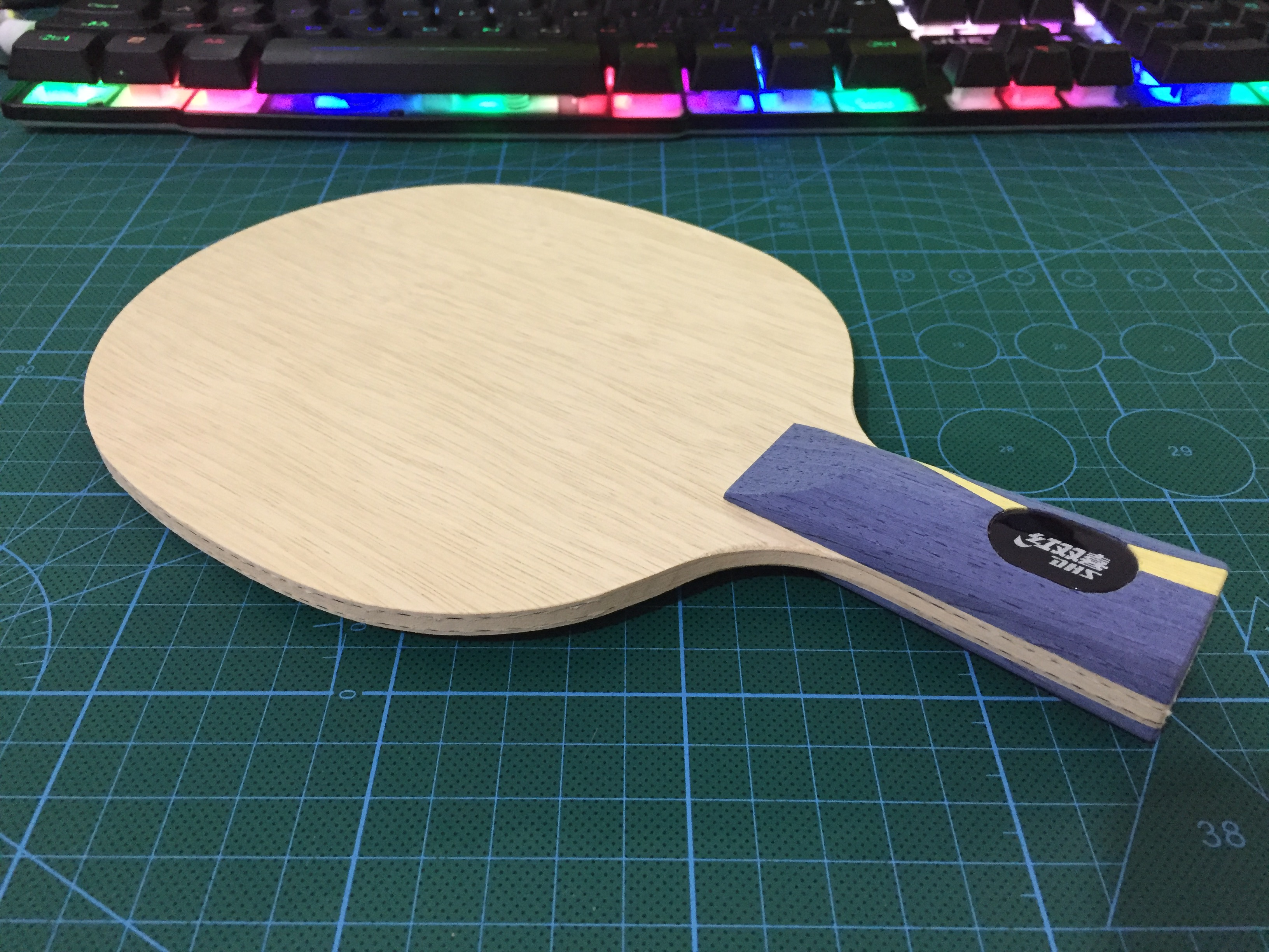 [Playa PingPong] DHS Genuine W968 Malong table tennis blade for Chinese national team [playa pingpong] dhs k161 chinese naitional version vis structure balde