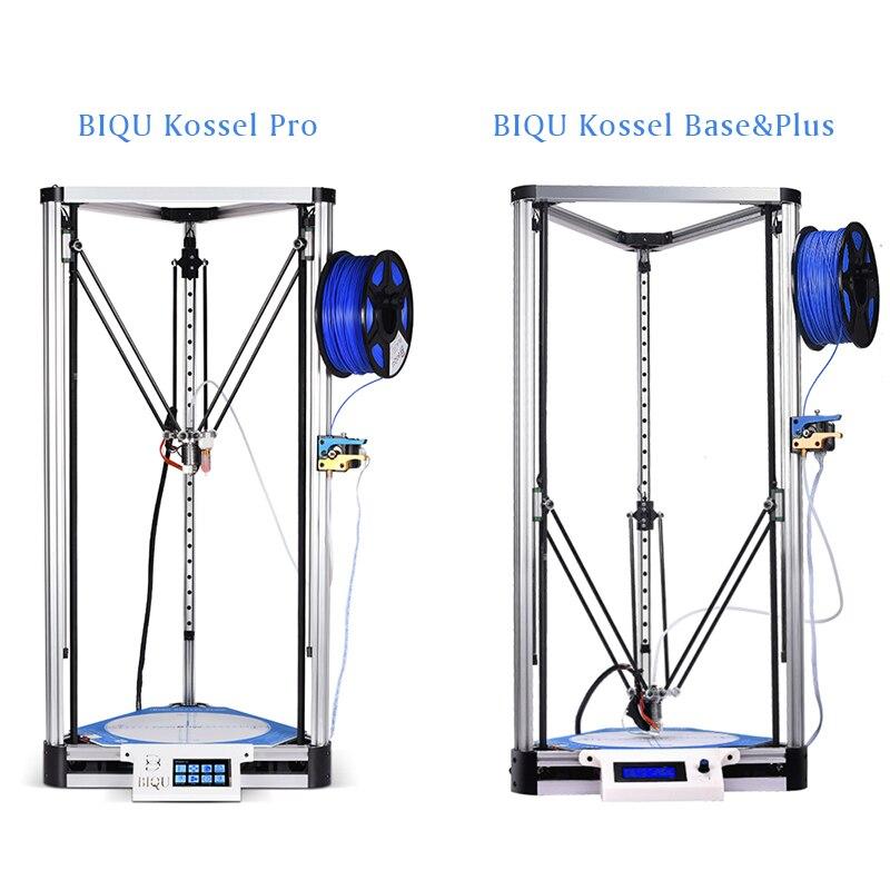 BIQU 3D métal Imprimante Kossel Base/Plus/Pro Delta Linéaire Guide DIY Kit Auto Nivellement Grande Taille D'impression 2004LCD/TFT35 Tactile Écran