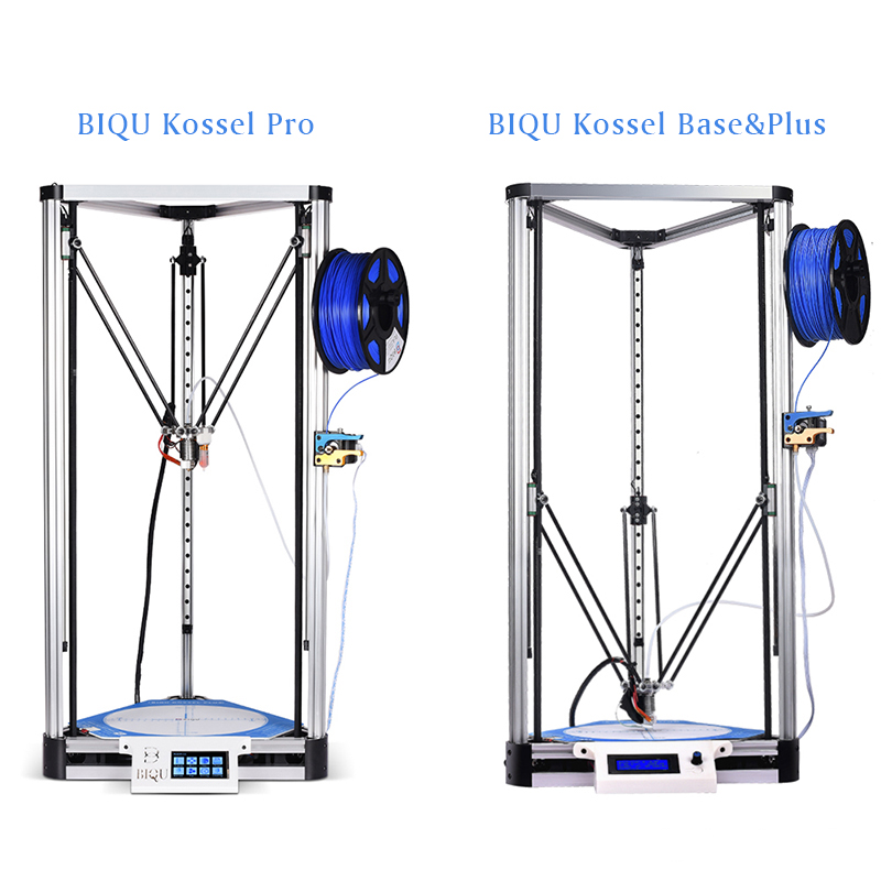 BIQU 3D metal Printer Kossel Base/Plus/Pro Delta Linear Guide DIY Kit Auto Leveling Large Print Size 2004LCD/TFT35 Touch Screen large buid size newest kossel k280 delta 3d printer 24v 400w power with auto level and heat bed two rolls of filament gift
