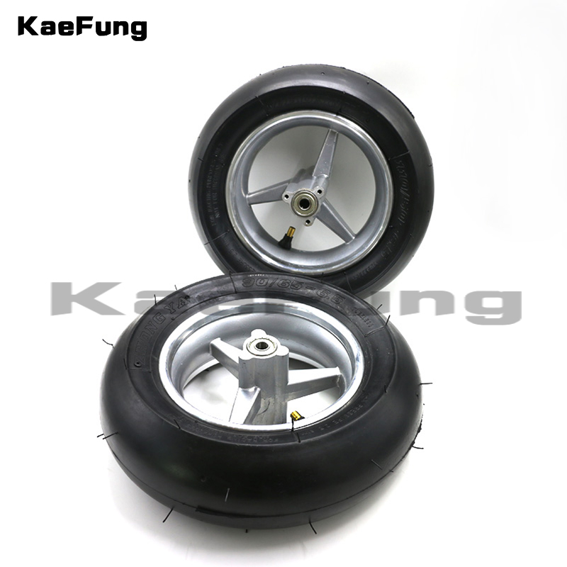front /Rear 110/50 6.5 & 90/65 6.5 wheel &Vacuum tyre for 2 stoke mini pocket bike spare parts