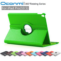 360 Rotating PU Leather Case For Apple IPad 2017 10 5 Inch With Stand Function For
