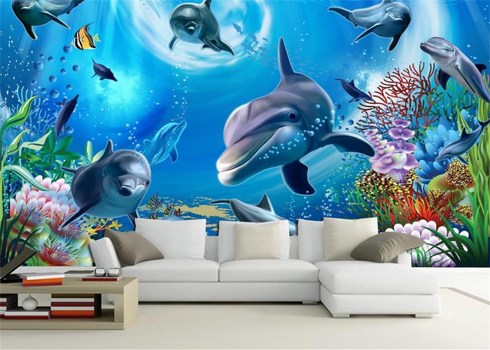 3D wallpapercustom photo wall paper3 d underwater