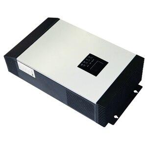 Image 4 - Onduleur solaire hybride à onde sinusoïdale Pure 3KVA 24V 220V 110V intégré PWM 50A contrôleur de Charge solaire et chargeur ca pour un usage domestique