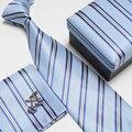 Masculino laço formal casamento comercial abotoaduras bolso toalha caixa de presente conjunto de colarinho branco 1201-12