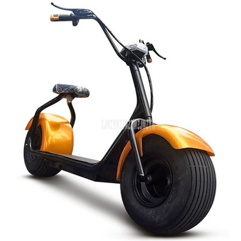 Cool Style Big 2 Wheel New Harley Electric Vehicle Adult Pedal Electric Bicycle Motorcycle Scooter With Seat Mileage 40km 1000W 2
