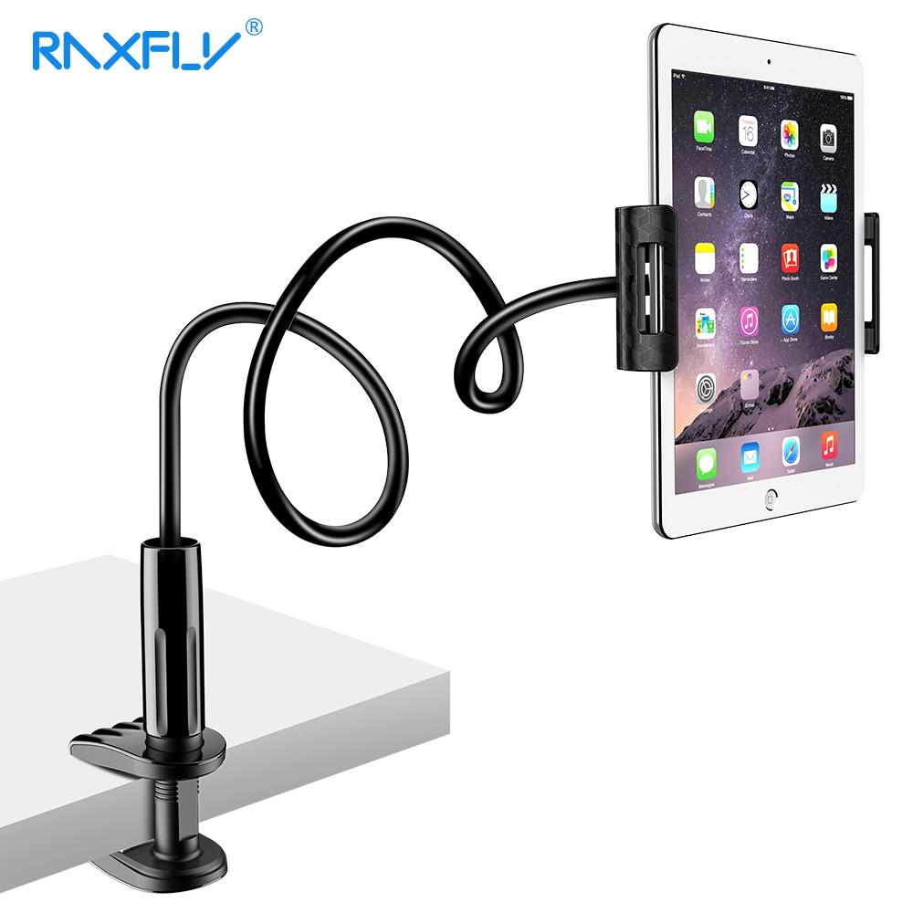 RAXFLY Del Telefono Del Supporto Del Basamento Per iPad 2/3/4 Scrivania Tablet Supporto Del Supporto Del Telefono Per il iphone XS Max XR XS X Supporto Per Samsung S10 Redmi Nota 7