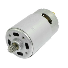 UXCELL(R) High Quality 1 Pcs 18V 9 Teeth  DC Shank Gear Motor for Rechargeable Electric Drill high quality 12 teeth replacement dc motor 9 6v for bosch cordless drill driver electric hammer drill gsr9 6v gsr9 6 2