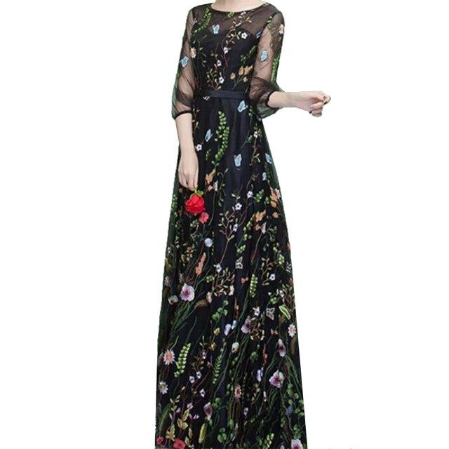 a0a8cdfebb6 130 см Одежда Швейные и ткань чистая пряжа 3D вышивка шифон цветок  кружевной ткани сетки Материал