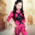 Children Girl Clothing Set Sports Suits 3-12 Years Kids 2pcs Sets Spring Autumn Fall Child Girls Clothes Tracksuits Sports Wear