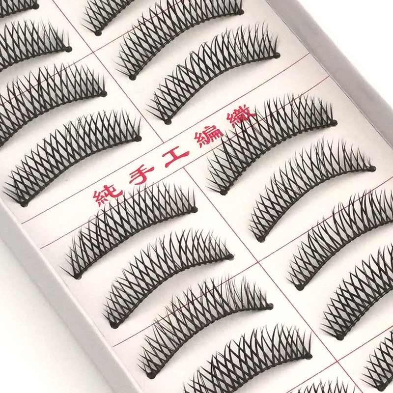 Новые 10 пар Накладные ресницы натуральные инструменты для макияжа Косметика Макияж для ресниц наращивание накладные ресницы 001