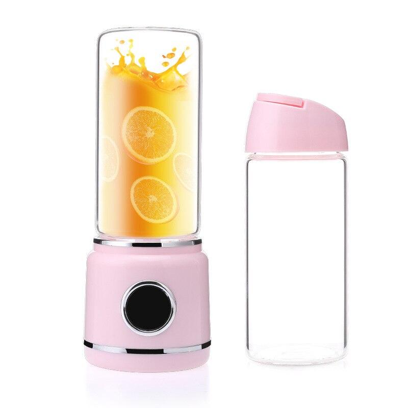 Ev Aletleri'ten Sıkacaklar'de Taşınabilir Usb Elektrikli Meyve Sıkacağı Blender Mini Mikserler Sıkacakları Meyve Sıkacağı Gıda Milkshake Çok Fonksiyonlu spor şişesi Meyve Suyu C