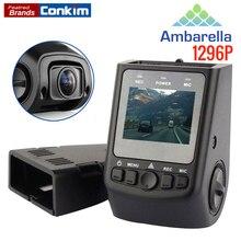 """X40 Cámara Auto Ambarella A7 1296 P Coche DVR GPS 1080 P Full HD de 1.5 """"Detector de LCD Condensador de alto rendimiento Mejor Que A118C B40 Cámara de la Rociada"""