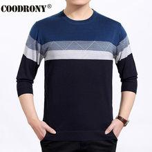 Wolle Pullover Männer Kleid Striped Muster Hemd Oansatz Pullover Männer Marke pullover OEM Kaschmir Ziehen Homme Plus Größe S-XXXXL 6634
