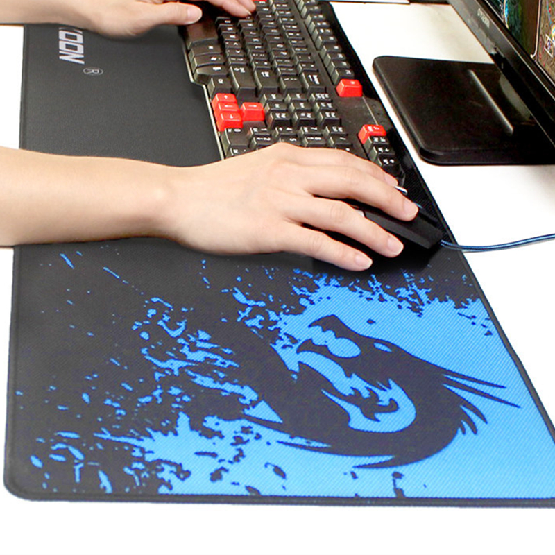 Large Gaming Mouse Pad Speed/control Version 300*800*2mm Game Mouse Mat Desk Mat Locking Edge Mousepad For Laptop Notebook l 15 gaming mouse pad mat black 213 x 270 x 2mm