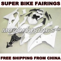 Motorcycle Unpainted ABS Fairing Kit For Yamaha YZF R6 2008 2009 2010 2011 2012 2013 Fairings Kits Front Nose Bodywork Pieces