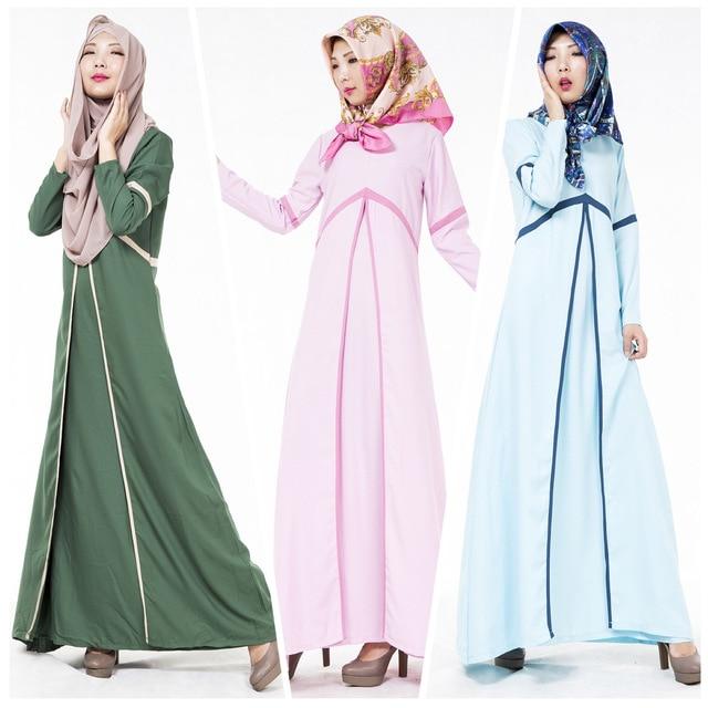 Турецкая Абая Горячие Продажи Кафтан 2016 Новая Мусульманская Платье Этническая Турции Малайзии Мусульманского Абая Исламской Одежды Для Женщин Халат 601 #