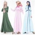 Vestido Étnico turco Caftán Abaya Venta Caliente 2016 Nuevo Musulmán Abaya Ropa Islámica Para Las Mujeres Túnica Musulmana de Turquía Malasia 601 #