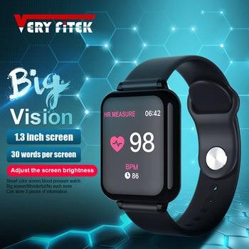 VERYFiTEK AW4 Intelligente di Pressione Sanguigna Orologio Per Il Fitness di Ossigeno Del Braccialetto Della Vigilanza del Monitor di Frequenza Cardiaca IP67 Donne Degli Uomini di Sport Smartwatch