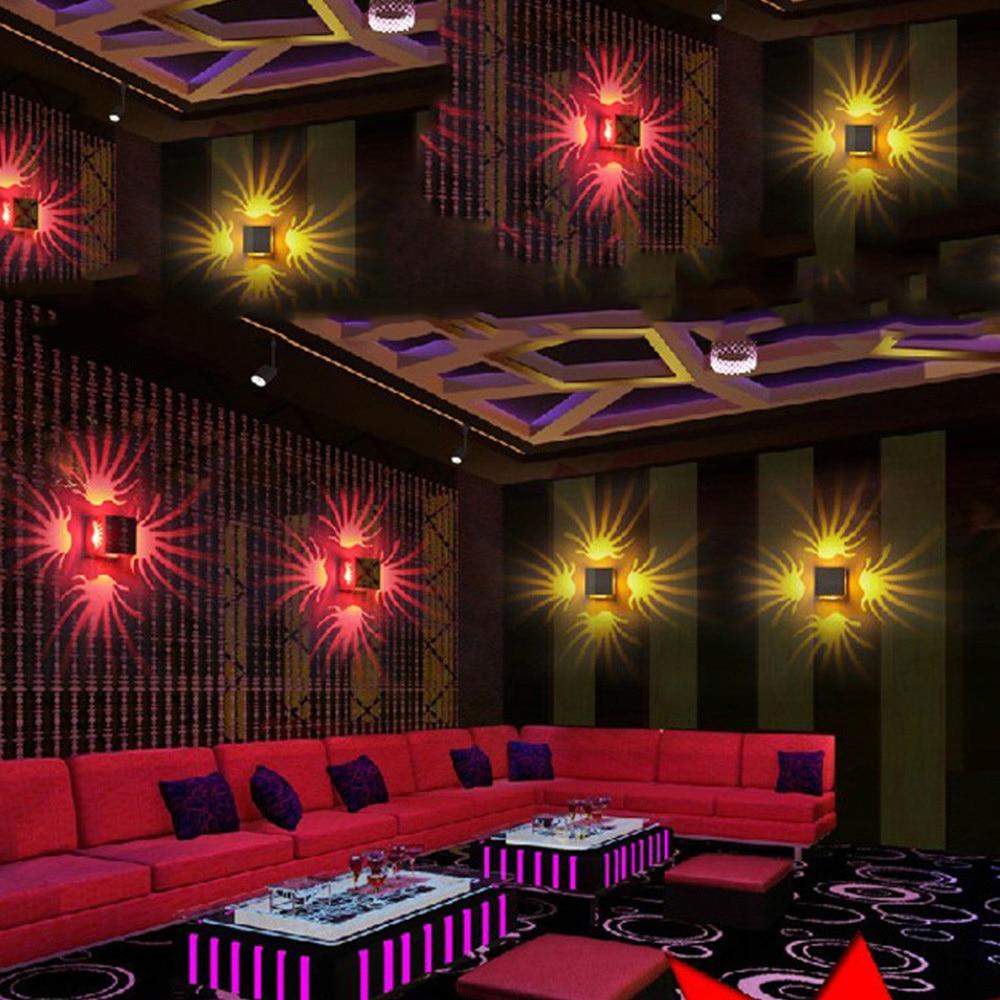 AC85-265V 3W barevná LED světelná svítidla Moderní svítidla pro dekorace / hotel / ložnice / Restaurace / chodba / obývací pokoj / KTV CA