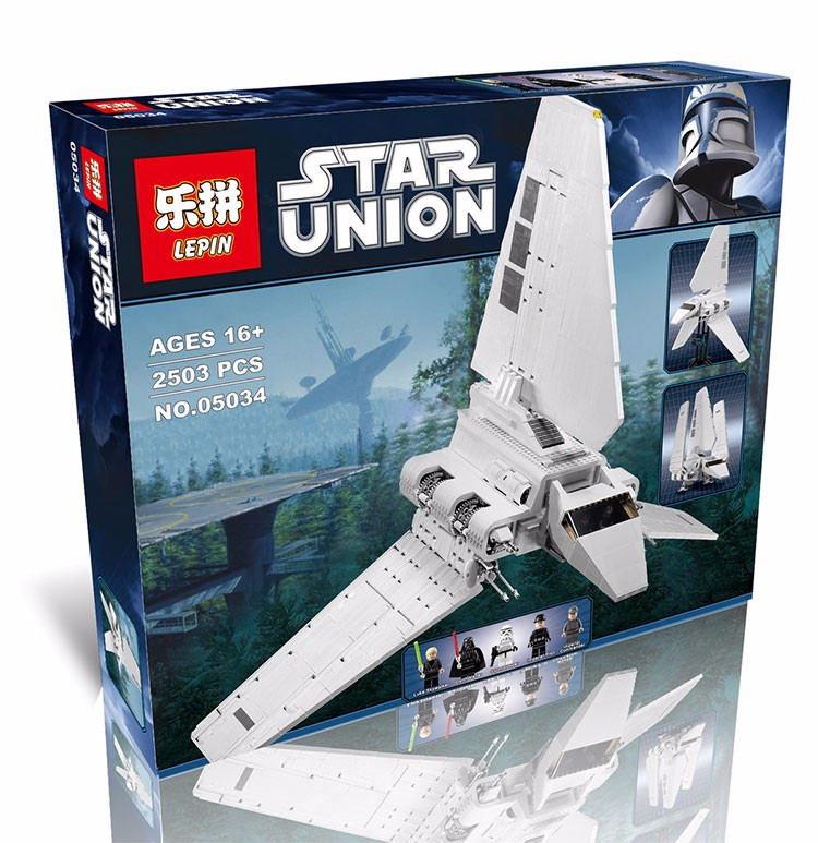 New LEPIN 2503PCS Star War Series The Imperial Shuttle Educational Building Assembled Blocks Bricks Toys Compatible with 10212