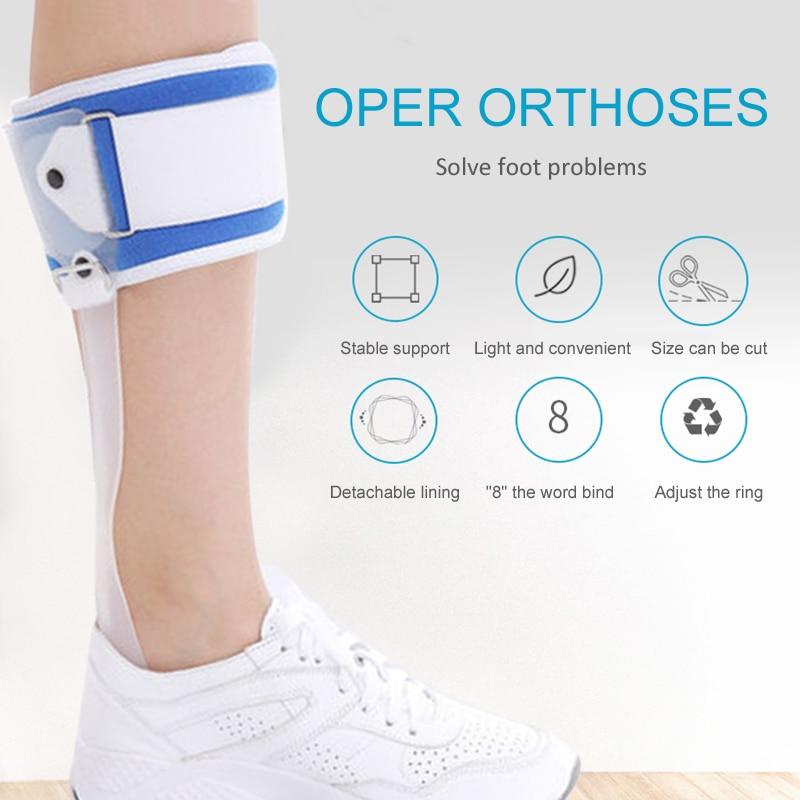 Ankle Foot Drop Postural correction AFO Brace Orthosis Splint Leaf Spring Recovery Equipment Injection Molded Left or Right FO58 dřevěné dekorace do dětského pokoje