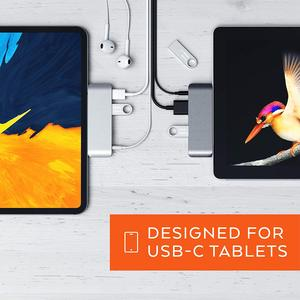 Image 5 - 2018 iPad için Mobil Pro Tip c USB hub adaptörü ile USB C PD Şarj 4K HDMI USB 3.0 & 3.5mm Kulaklık Jakı