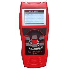 Display lcd handheld carro motor diagnosticar scanner pode obdii/eobdii leitor de código v800
