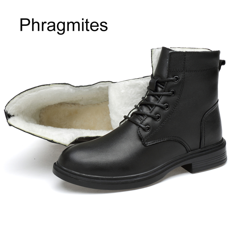 Chaussures Plus En Bota Boot De D'hiver Masculina Cuir Vache With Bottes Chaud Without Loisirs Fur black Taille Mi Fur Moto Phragmites Femmes 49 Mode mollet zW6ndffH