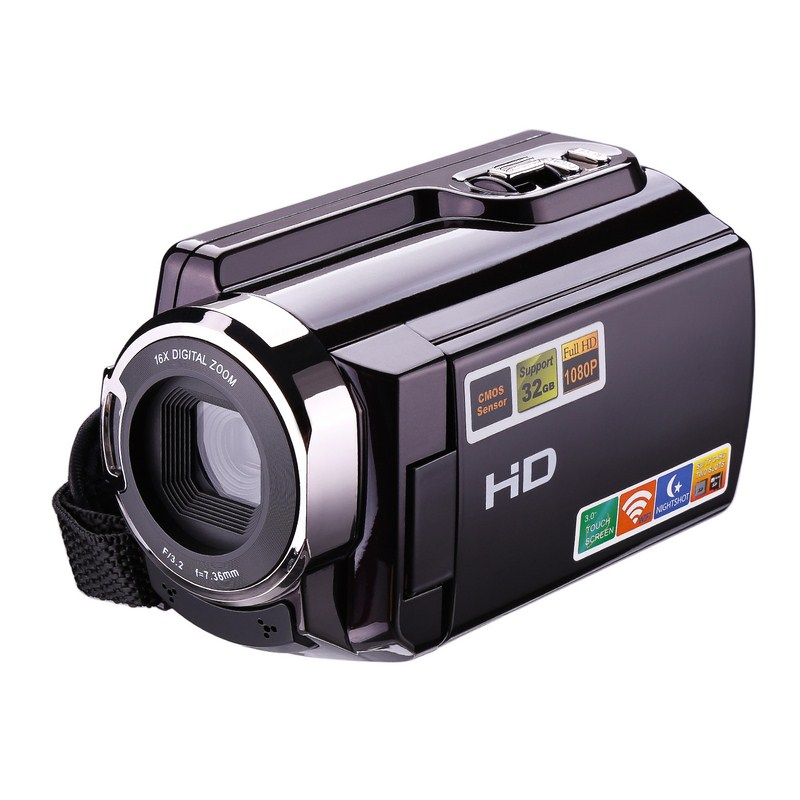 HDV-5053STR Digital Photo Camera Full HD 1080P Professional Digital Camcorders 3 inch TFT Rotation Screen Support Night Vision genuine fuji mini 8 camera fujifilm fuji instax mini 8 instant film photo camera 5 colors fujifilm mini films 3 inch photo paper