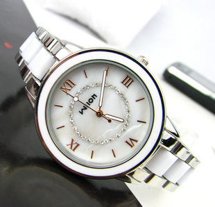 Fashion Brand 2016 New Fashion Ceramics Watches Women Dress Watch Stylish Women Casual Watch Quartz Wrist Watches Clock Female