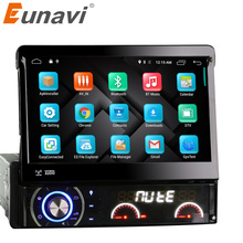 "Eunavi 1 Din 7 ""Auto DVD-Player Android 6.0 Video Hd touchscreen Automotivo Stereo Radio Mit 4g Mondom GPS Navigation"