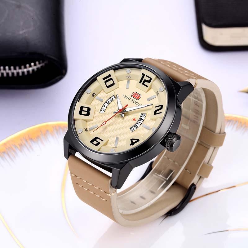 Luksusowa marka MINI FOCUS Mężczyźni Zegarki sportowe Męski zegar - Męskie zegarki - Zdjęcie 3