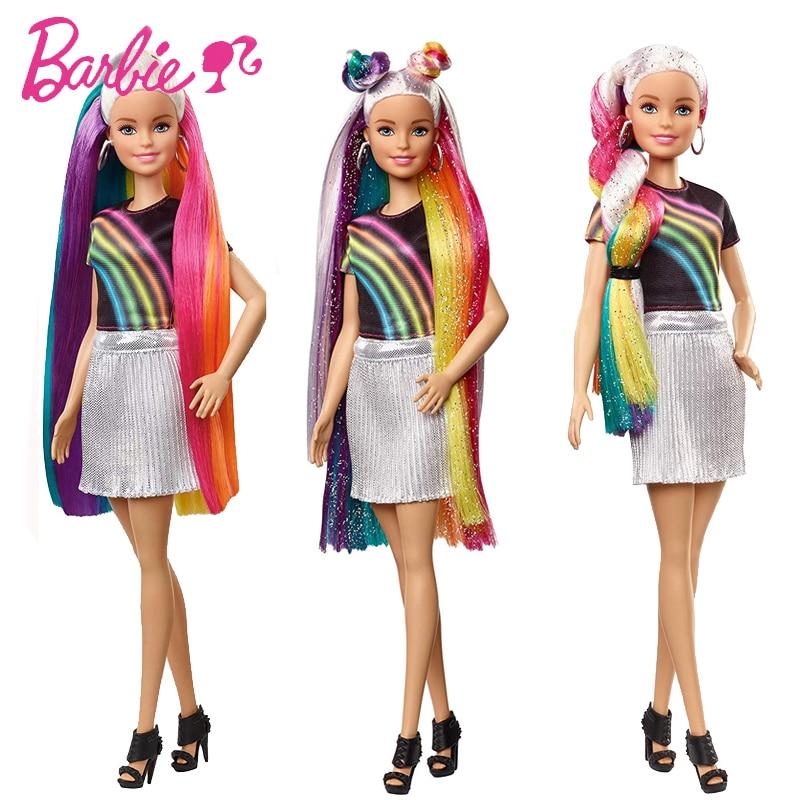 Marca Original Barbie Dolls Princesa Variedade Fashionista Rainbow Menina Moda Infantil Presente de Aniversário Boneca Bonecas Brinquedos Para Crianças