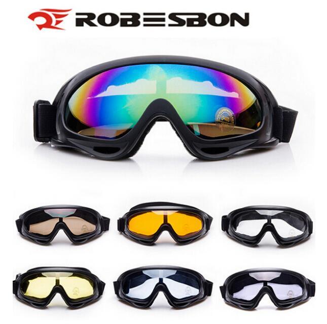 ROBESBON X400 спортивные Лыжные Сноуборд Очки и мотоциклов Велоспорт очки 100% UVA/UVB, Байк скейт Очки
