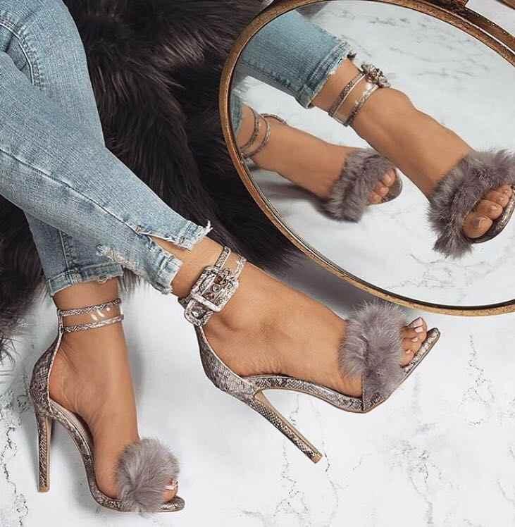 Yeni Yaz yüksek topuklu kadın sandalet ayakkabı pompaları kadın Gladyatör Roma peep toe parti yüksek düğün topuklu sandalet ayakkabı mujer #279