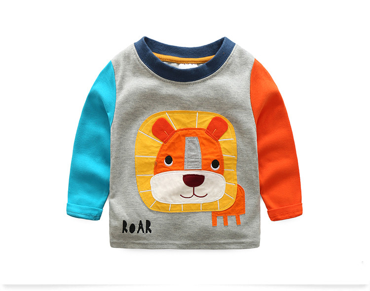 HTB1I7 KRVXXXXbzaXXXq6xXFXXXk - VIDMID boys t-shirt long sleeves children's t-shirts autumn cartoon kids shirts for boys clothes cotton baby clothes boy t-shirt