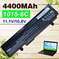 Negro 4400 mah batería para asus eee pc epc 1215 unid 1215b 1215n 1015b 1015 1015bx 1015 p x 1015 p a31-1015 a32-1015 al31-1015