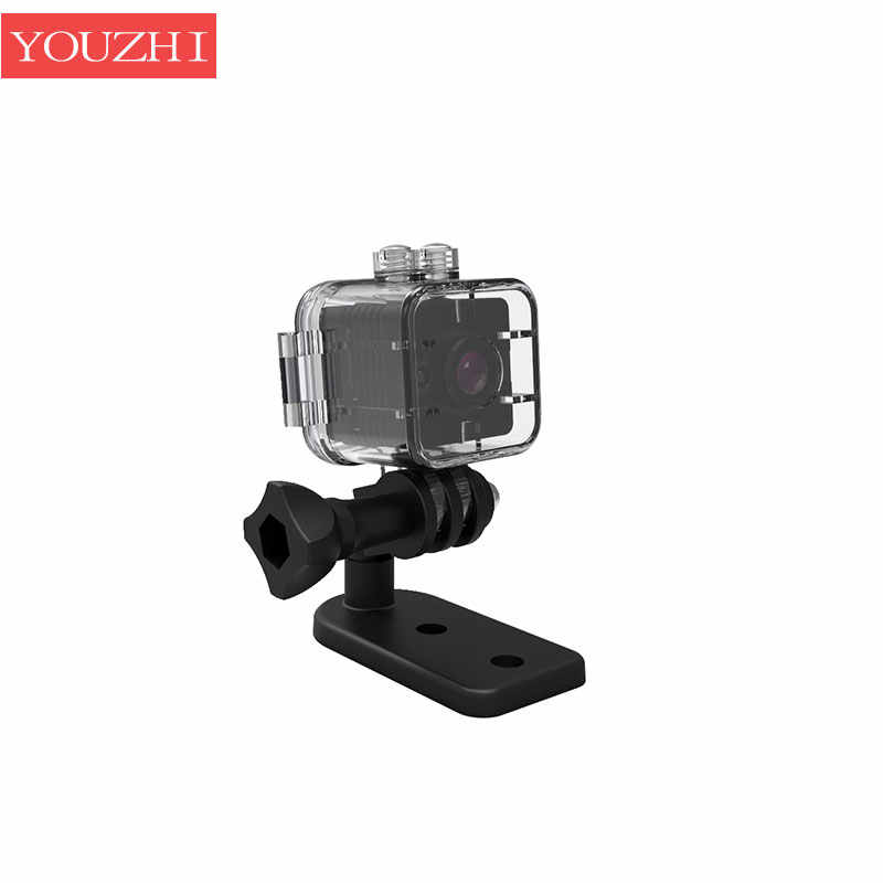 SQ12 HD 1080P Mini Camera Night Vision Mini Camcorder Sport Outdoor DV Voice Video Recorder Action Waterproof case Camera YOUZHI