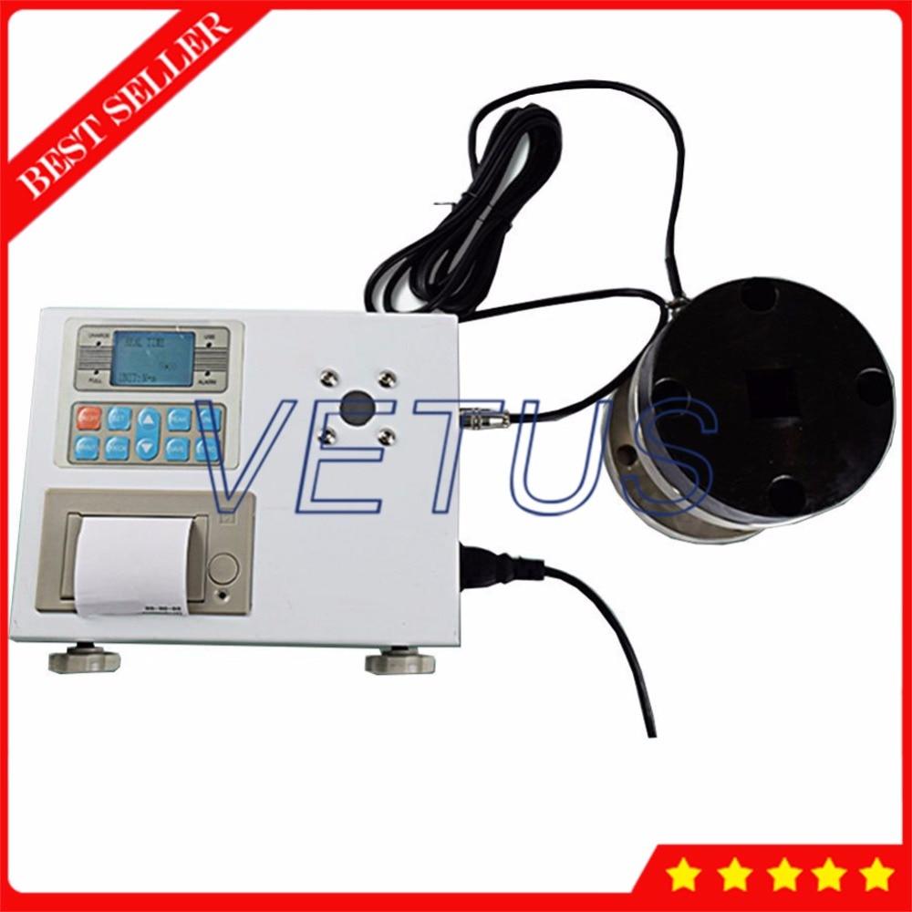 ANL 1000P цифровой точность крутящего момента метр интерфейс USB torquemeter torsion датчик для динамометрический ключ тестер Встроенный принтер
