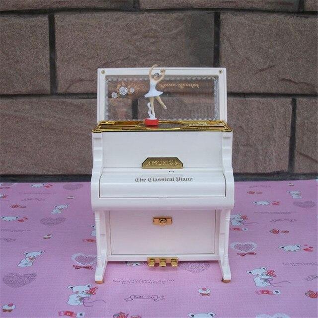 music jewelry box ballerina girl dance movement music box piano