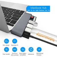 Aluminum USB CUSB C Hub To 4K HDMI Type C Hub 3.0 Splitter Adapter TF Micro SD Card for imac for Macbook pro 2015 2016 2017