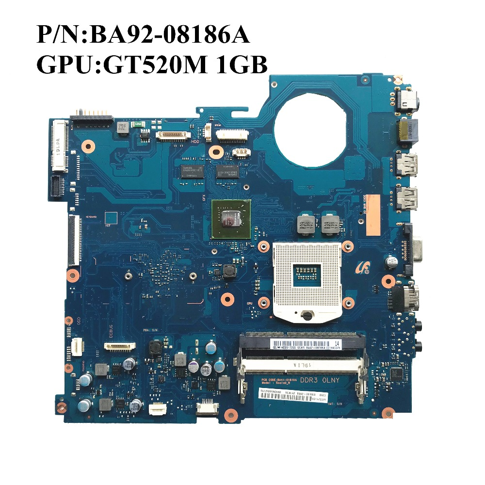 Original Pour Samsung RV520 NP RV520 ordinateur portable carte mère GT520M 1 GO DDR3 HM65 BA92 08186A BA92 08186B N12P GV S A1 100% travail-in Carte mère ordinateur portable from Ordinateur et bureautique on AliExpress - 11.11_Double 11_Singles' Day 1