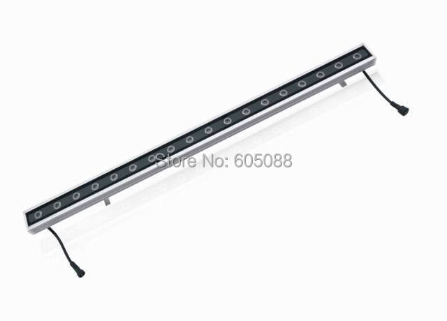 2017 Νέα άφιξη 72W IP65 Υπαίθρια LED RGBW Λαμπτήρας πλύσης τοίχου DC24V Γραμμικός φωτισμός τοπίου CE & ROHS 9pcs / lot Χονδρικό & Λιανικό εμπόριο