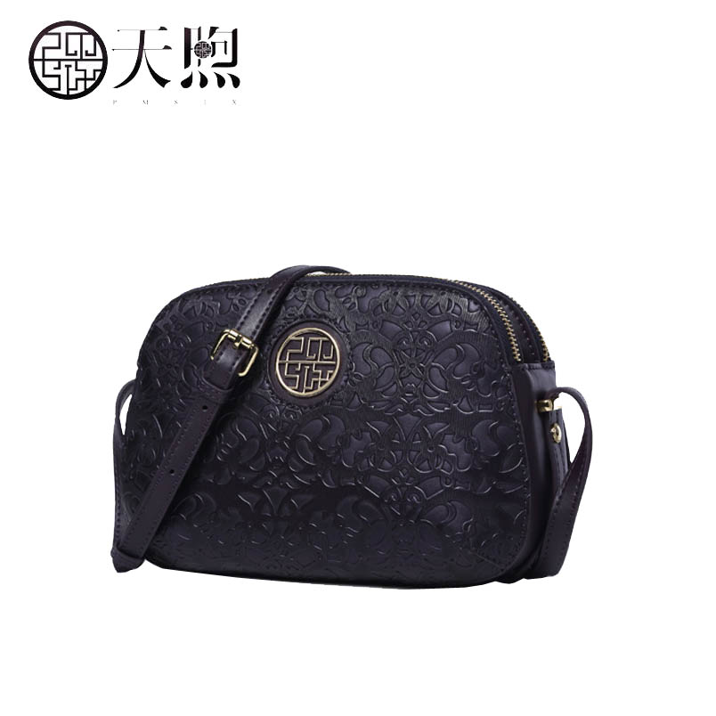 2019 New Pmsix Superior cowhide fashion Embossed pu leather women leather  handbags crossbody bags for women ac6232e06cd9