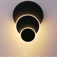 Thrisdar Deformable Creative Art LED Wall Lamp Nordic Personality Restaurant Bar Cafe Wall lamp Balcony Aisle Wall Lamps недорого
